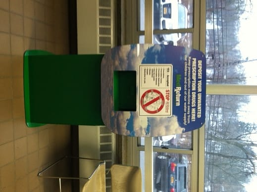 Bedford Police have installed a medication drop box in the lobby at headquarters.