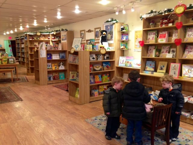 The Voracious Reader in Larchmont provides a place for kids to share in book culture.