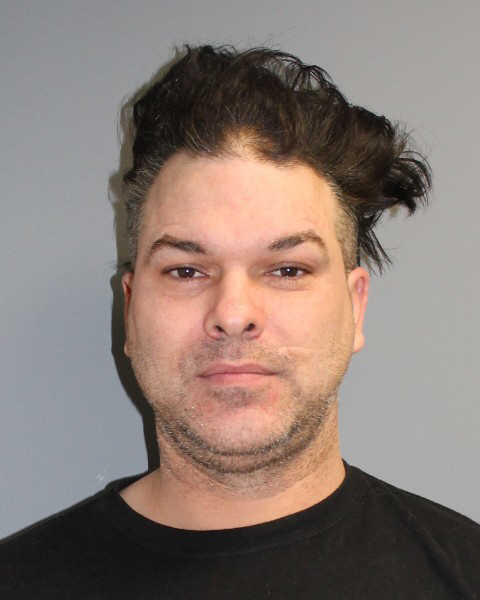 Norwalk resident Frank Townsend, 44, was arrested in connection with a domestic incident and also charged with shoving an officer, according to Norwalk police.