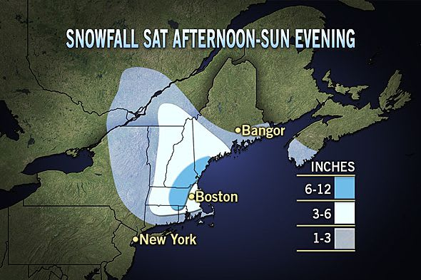 Rain and snow are forecast for the weekend weather in Fairfield County.