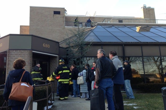 A 62-unit apartment building was condemned Jan. 27 after a pipe burst left it uninhabitable.