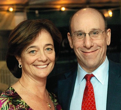 Scarsdale residents Jimmy and Kathy Brandt will be celebrated at the Temple Israel Center in White Plains.