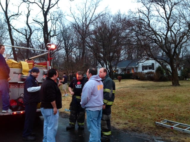 A small fire at 127 Highview Street on Mamaroneck was put out quickly.