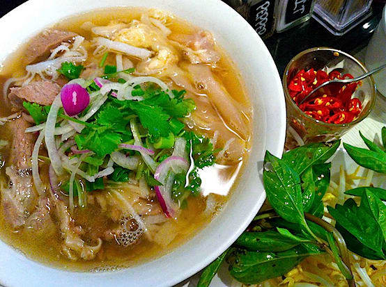 Saigonese, a new Vietnamese restaurant in Hartsdale, serves authentic dishes like pho, a stew dish with noodles, rice, herbs and meat.