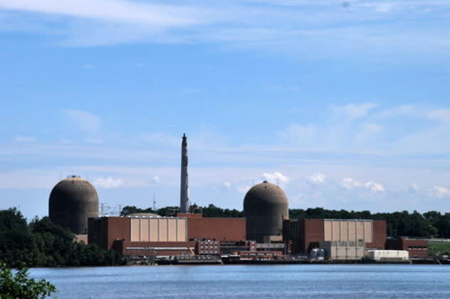 Indian Point's Unit 3 nuclear power plant was manually shut down Monday morning.