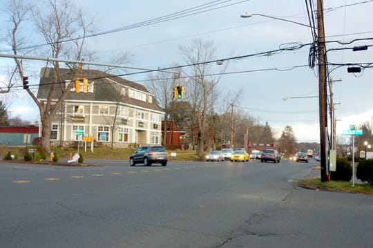 Westport First Selectman Gordon Joseloff is urging the state DOT to move forward with plans to install a new crosswalk on the eastern side of the Post Road East/Bulkley Avenue intersection.