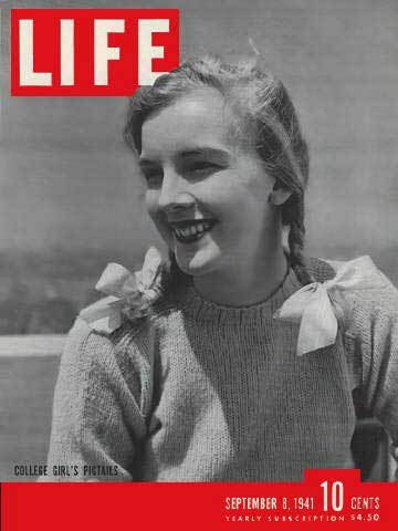 Ann Teal Bradley appeared on the cover of Life magazine in 1941.