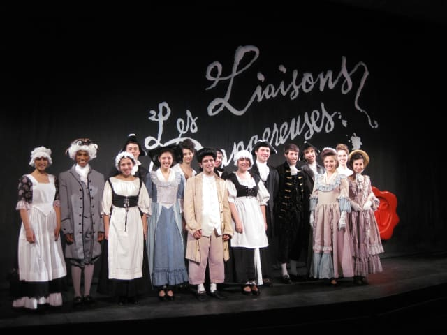 "The Greeley Theatre Company presents ""Les Liaisons Dangereuses"" performances at 8 p.m. Friday and Saturday."