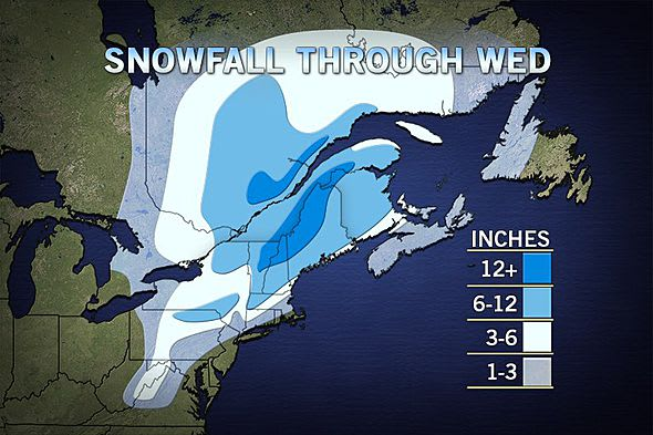 Another March snow storm could hit Westchester County late Monday, lasting into Tuesday and leaving cold temperatures in its wake.
