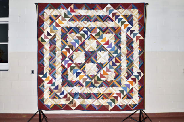 Buy a raffle for this quilt and help support the Pound Ridge Fire Department.