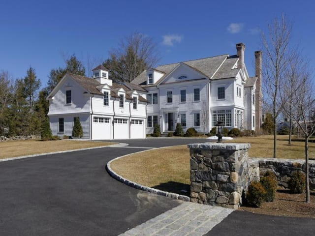 The home at 1129 Oenoke Ridge in New Canaan will be open on Sunday from 1 to 3 p.m.