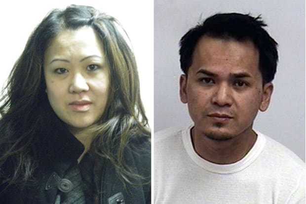 Trumbull residents Dominique Phraviaxy and Xayonh Phaosoung were arrested Monday and charged with embezzling more than $75,000 from a Westport company they worked for.