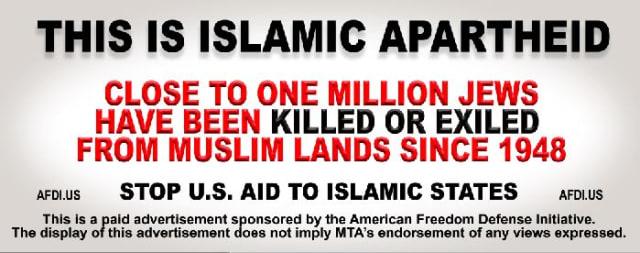 More Anti-Islam ads may go up at Metro-North stations.