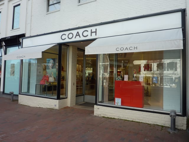 Coach, located at 155 Main St. in Westport, will close at the end of next month.