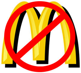 Fast food chains won't be making their way to Eastchester anytime soon.