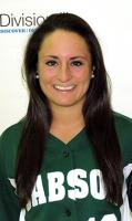 Lindsey Schmid of New Canaan had four hits in a doubleheader Sunday for the Babson College softball team.