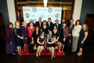 Eastchester business owners were celebrated at the event.