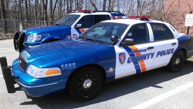 Westchester Police arrested three men on felony drug charges over the weekend on Oregon Corners Road in Cortlandt.