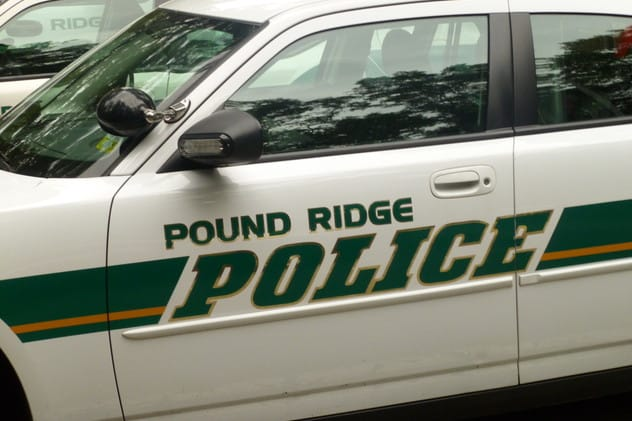 Pound Ridge Police charged a driver under Leandra's Law on Friday.