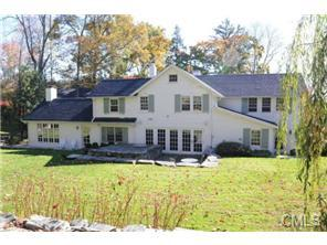 The home at 45 Canoe Hill Road in New Canaan recently sold for $1.68 million.