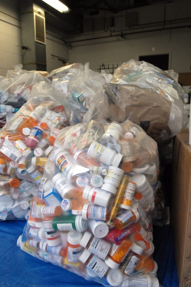The Pound Ridge Police Department is taking back unwanted prescription drugs on April 27 from 10 a.m. to 2 p.m.