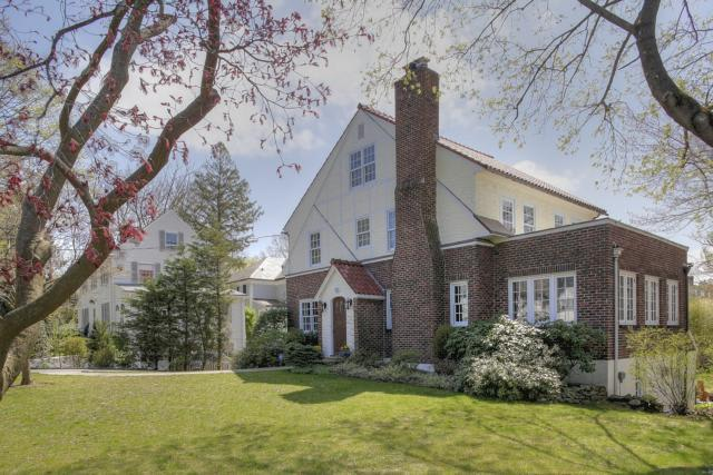 This Bronxville home is being shown to prospective buyers this weekend.