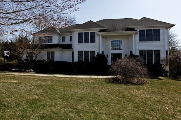 This home on Red Roof Drive is one of several open houses in Rye Brook and Port Chester this weekend. Open house is Sunday from 2 to 4 p.m.