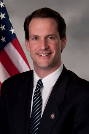 U.S. Rep. Jim Himes will visit St. Luke's School in New Canaan on Wednesday morning.
