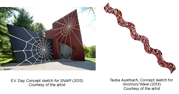 The Philip Johnson Glass House in New Canaan will have new art starting on Thursday.