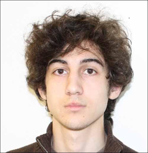 Boston Marathon bombing suspect Dzhokhar Tsarnaev, 19.