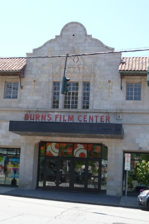 The Jacob Burns Film Center is located in downtown Pleasantville.
