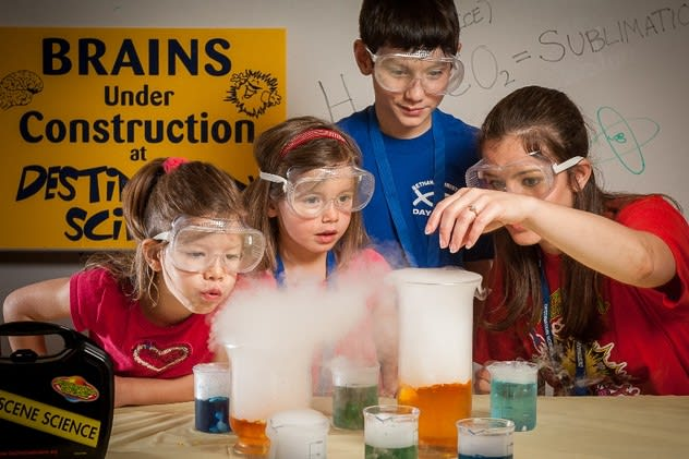Harrison kids will be able to learn about science in a fun, hands-on environment at Destination Science this summer.
