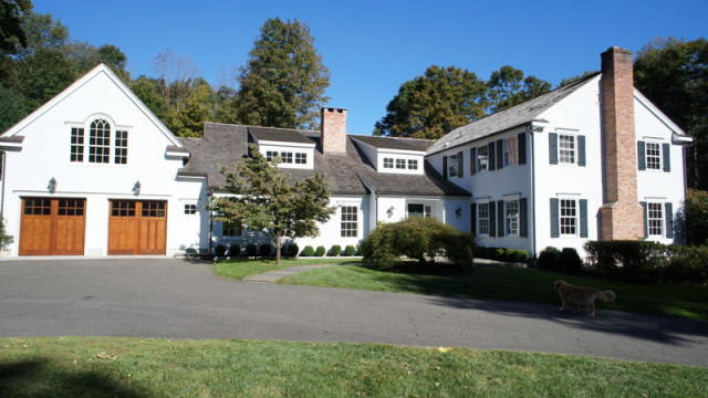 The home at 1 Barnegat Road in New Canaan was recently sold.