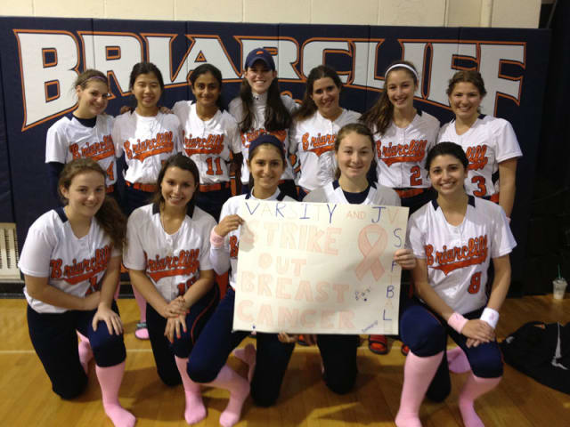 """Briarcliff will host Ossining in """"Striking Out Breast Cancer"""" with two softball games this weekend. The games are the highlight of this weekend's events in Ossining and Briarcliff Manor."""