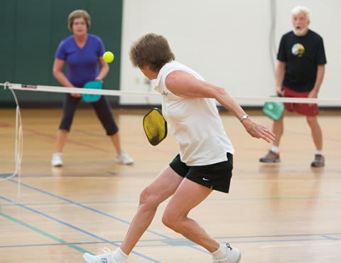 Pickleball has come to the Ridgewood YMCA.