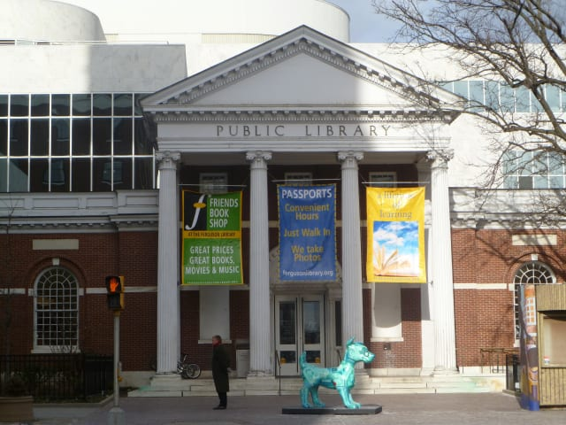 """The Library of Congress is considering the """"Let's Talk"""" program at the Ferguson Library in Stamford for a Literacy Award."""
