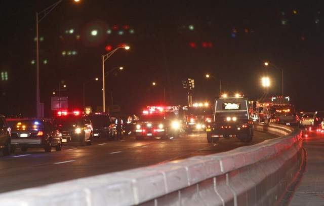 The Tappan Zee Bridge was closed for several hours after a woman was killed in a multiple-car accident.