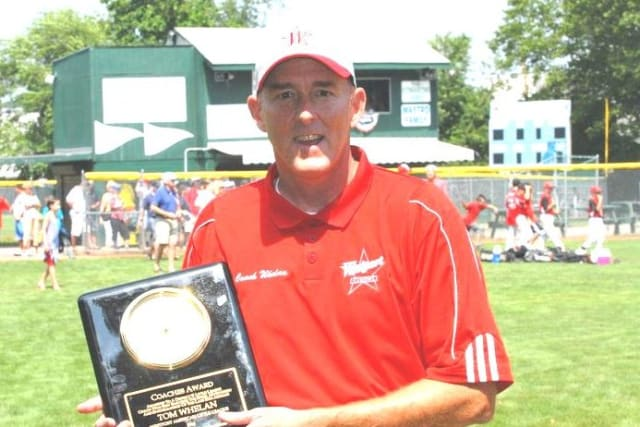 Tom Whelan, a long-time coach in the Westport Little League program, is a member of manager Tim Rogers' staff of the squad that is playing in the Little League World Series.