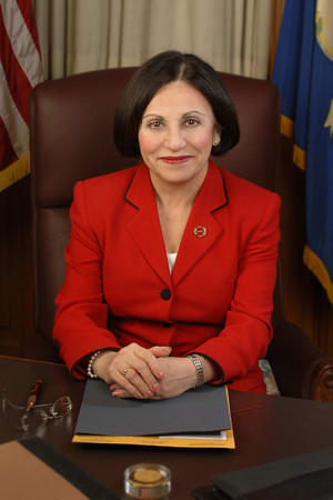 State Sen. Toni Boucher, a Republican, is concerned about the state of the budget.