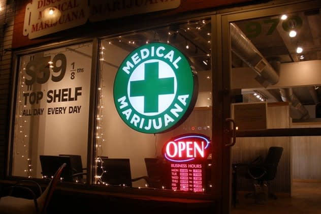 Three to five medical marijuana shops could be approved for business in Connecticut as early as January 2014, Consumer Protection Commissioner William Rubenstein said last week.
