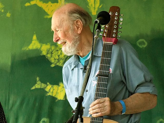 Pete Seeger will be featured in a discussion at Manhattanville College in Purchase.