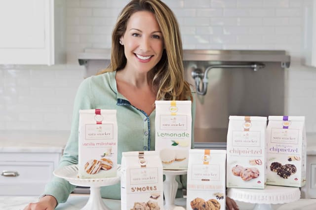 Rye resident Sara Leand's unique cookies can be found in stores across the country.