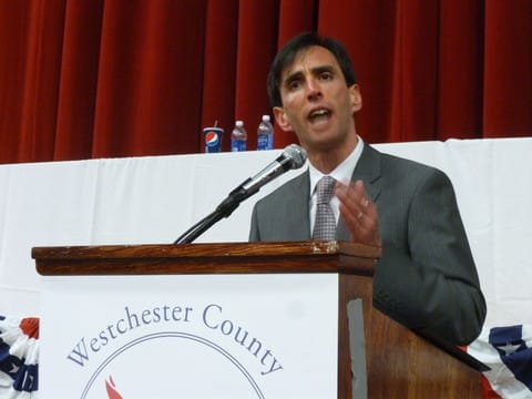 New Rochelle Mayor Noam Bramson received two endorsements on Monday.