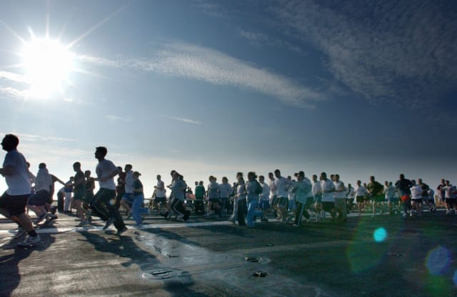 Western Connecticut State holds Campus-to-Campus 5K.