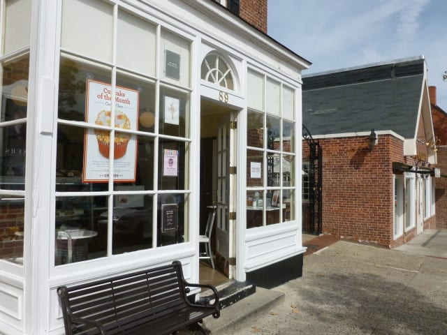 The Crumbs Bake Shop, located at 89 Elm St. in New Canaan, will close at the end of the month.