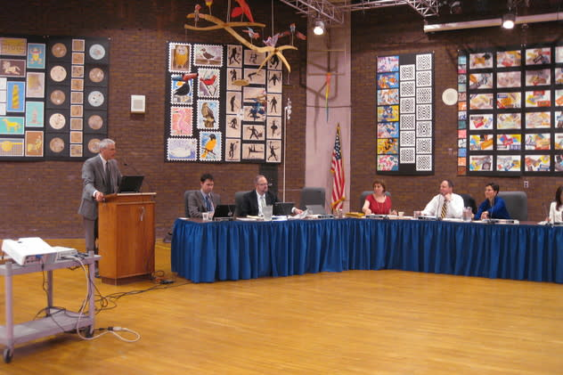 The he Bedford Central School District Board of Education has put a $31.8 million capital improvement plan before the voters.