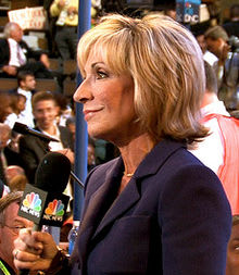 Andrea Mitchell turns 67 on Wednesday.