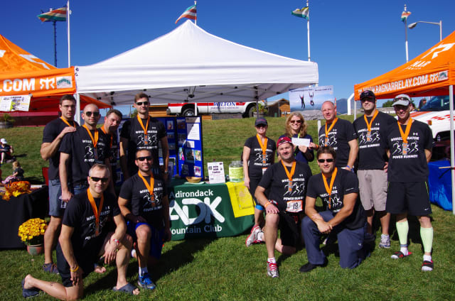 Wheelabrator employees took part in a 200-mile relay in Saratoga Springs for charity.