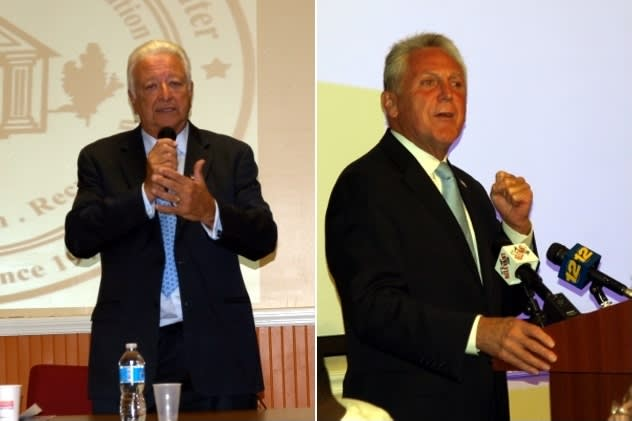 Norwalk voters will choose between Republican Mayor Richard Moccia and Democratic challenger Harry Rilling on Nov. 5.