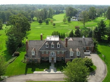 Halstead Property is offering this home at 7 Wrenfield Lane in Darien for $3,950,000.